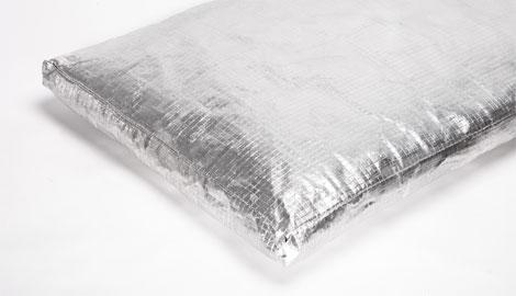 Hitzeschutzmatte mit Alublechfolie